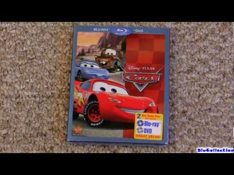 Disney Pixar CARS Blu Ray Dvd Review