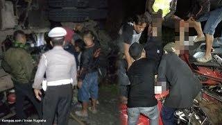 Sopir Truk yang Tabrak Mobil Agya di Gentong dan Menewaskan Satu Keluarga Mengaku Syok