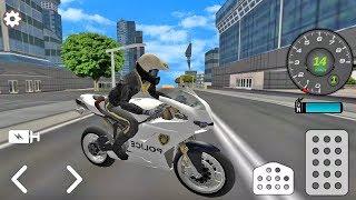Juego De Motos Para Niños -  Moto De Policía - Juegos Para Niños