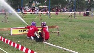 Keseruan Lomba Ketangkasan BPK se-Kalimantan