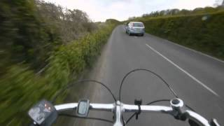 preview picture of video 'A Race Speed Trip Around the Box Hill Loop Of The Olympic Cycling Road Race Course'