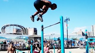 """Street Workout World Cup"" 2014 New York - Tiebreaker For 3rd Place!!!!"