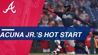 Ronald Acuna Jr. dazzles in his first week in Majors