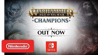 Warhammer Age of Sigmar: Champions - Launch Trailer - Nintendo Switch
