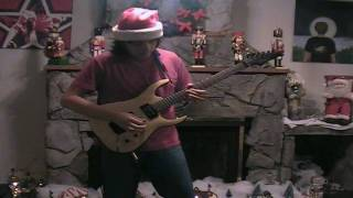 - Christmas Carol Rock!! Hard Rock Electric Guitar! - Eric Maldonado -