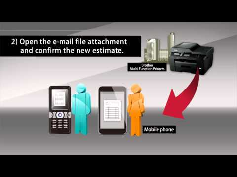"Mobile Internet Fax - ""Scan to E-mail"" & PJ-663"