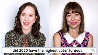 Rachel Brosnahan & Natasha Leggero Answer 50 of the Most Googled 2020 Questions | WIRED