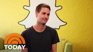 Snapchat Co-Founder Evan Spiegel Responds To Privacy, Security Concerns | TODAY