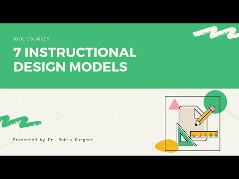 You NEED to Know These 7 Instructional Design Models - YouTube