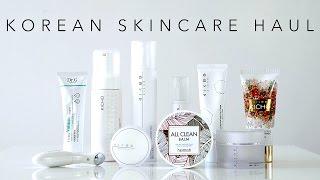 Korean Skincare Haul & Review   Heimish, Dr.G, Kicho