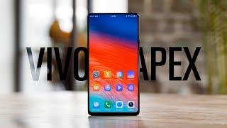 Самый безрамочный смартфон в мире — Vivo Apex