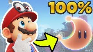 Super Mario Odyssey - Metro Kingdom ALL 81 POWER MOON LOCATIONS! [100% Guide]