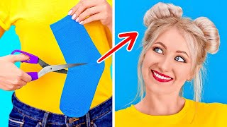 COOLEST HACKS TO SOLVE ALL YOUR PROBLEMS || New Girly Hacks By 123 GO!