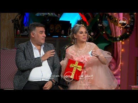 النجمة شيرين رضا والسيناريست تامر حبيب بمناسبة رأس السنة مع غادة عادل في تعشبشاي الاثنين 9 مساءً
