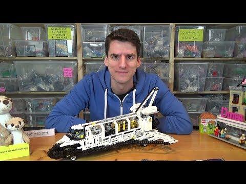 LEGO, SPACE SHUTTLE EN BOITE, BELLE ET COMPLÈTE, BOITE ET DOCUMENTATION 8480