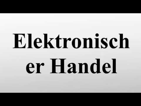 Elektronischer Handel
