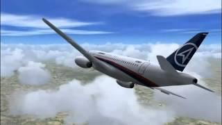 Rekaman Tragedi Sukhoi Superjet 100 Di Gn. Salak (dari Take Off - Crash)...
