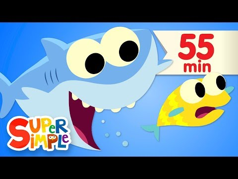 Baby Shark | + More Kids Songs | Super Simple Songs