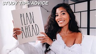 My 6 Study Tips/Advice For That 4.0!! | College 2019