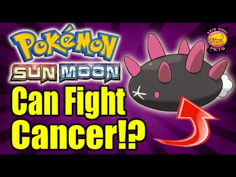 Pokemon's Pyukumuku Can FIGHT CANCER!? - Aki's Pixel Pets