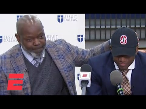 Emmitt Smith's son E.J. commits to Stanford over Florida | College Football on ESPN