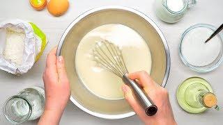 Тесто для блинов. Успех гарантирован!  Рецепт от Всегда Вкусно!
