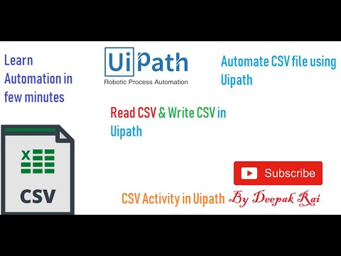 Download Uipath How To Read Excel Data Video 3GP Mp4 FLV HD Mp3