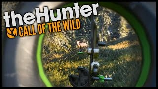 The Hunter Call Of The Wild - BOW HUNTING! - Let's Play The Hunter Call Of The Wild Gameplay