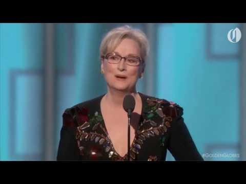 Meryl Streep goes after Donald Trump at Golden Globes 2017