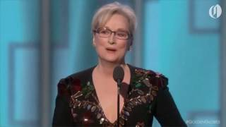 Video Meryl Streep Goes After Donald Trump At Golden Globes 2017