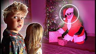 We CAUGHT Knock Knock acting like Santa Claus! *Creepy*