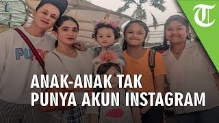 Anak-anak Ussy Sulistiawaty Tak Miliki Instagram