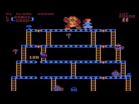 Donkey Kong Atari 5200 Longplay