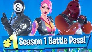 Fortnite Chapter 2 Season 1 (Season 11) - Full Battle Pass Tour