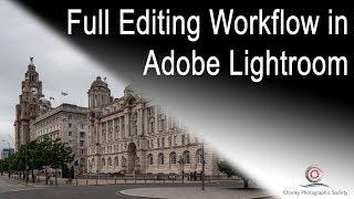 Full Editing Workflow in Adobe Lightroom