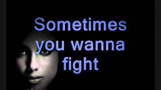 Alicia Keys - When You Really Love Someone (with Lyrics).avi