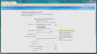 Screencast — How-to: Sign up for a Windows Live ID