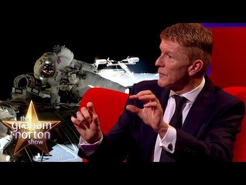 Vesmír, roušky a Steven Spielberg - The Graham Norton Show