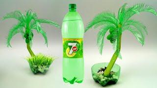 DIY Creative Crafts Waste Plastic Bottle Reuse Idea / Plastic Bottle Tree Making