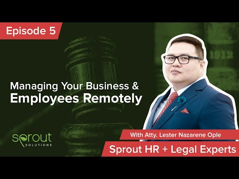 Episode 5: Managing Your Business & Employees Remotely