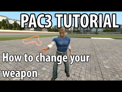 GMOD PAC Tutorial - Holstering Weapons - смотреть онлайн на