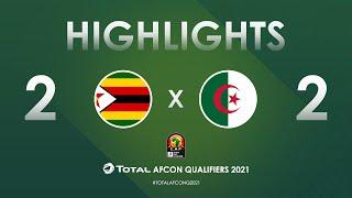 Éliminatoires de la CAN 2021 | Groupe H : Zimbabwe 2-2 Algérie