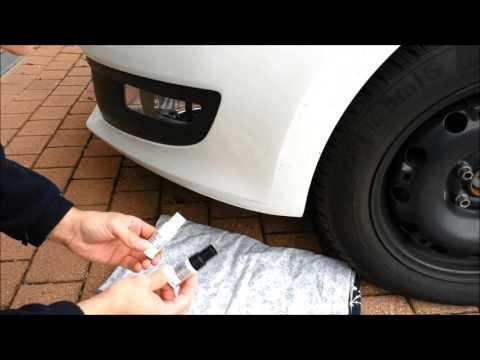 Lackschaden, Kratzer am Auto ausbessern