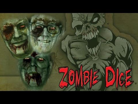 Zombie Dice |  Két agy nem agy (TheVR Jani, TheVR Pisti, Kaci) - Fun With Geeks