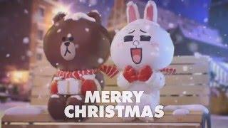 LINE Friends Christmas Greetings~
