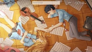 Your Lie In April [8D Study Music] Beautiful Piano & Violin Study Music
