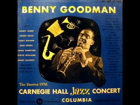 I'm Coming Virginia by Benny Goodman from Live At Carnegie Hall 1938 Concert on Columbia.