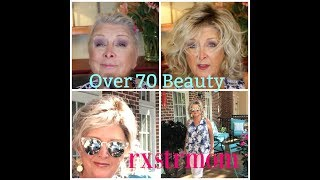 GetReadyWithMe~Bare Minerals~ Over70Beauty~Beach Wig 🌸🍃