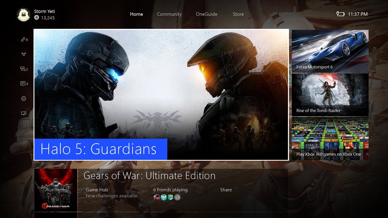 Video for Your New Xbox One Experience Begins Today