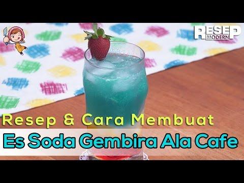 Video Cara Membuat Es Soda Gembira Sendiri Ala Cafe
